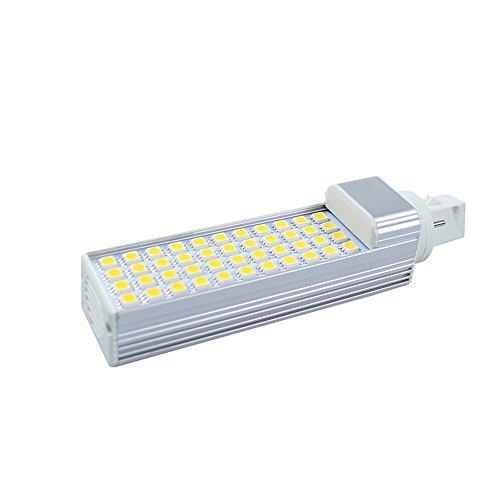 G24 LED Mais Glühbirne, YouGer Energiesparende Wohnzimmer 50 LEDs 2835 SMD 180 Grad 220 V 10 Watt (Cool White 6000k) -