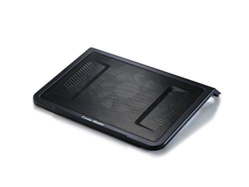 Cooler Master NotePal L1 Notebook-Kühler 'Leiser 160mm Lüfter, Aerodynamic Design Air Intakes, Kompatibel mit bis zu 17 Zoll Laptops' R9-NBC-NPL1-GP