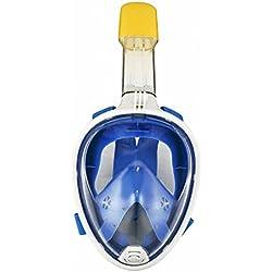 lzndeal Masque de Natation,Masque Antifog de Plongée,Convient pour l'Aérobic sous-Marin,Confortable à Porter