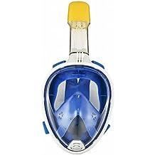 Starall Snorkel Diving Mask anti Fog Full Face superficie snorkeling maschera respiratoria con staccabile supporto GoPro