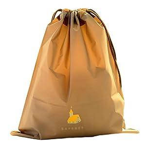 Sac de voyage pour chaussures à pochette de rangement, cordon de serrage, 2 unités, protection contre la poussière