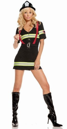 n Kostüm M (Erwachsene Fire Fighter Kostüme)