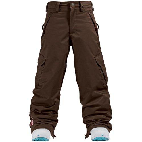 Kinder Snowboard Hose Burton Elite Cargo Pant girls youth chestnut L (Snowboard Pant Cargo)