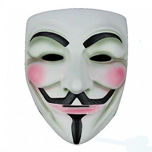 (costume Mask V for Vendetta Anonymous)