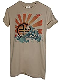 MUSH T-Shirt Wave Giappone - Famosi by Dress Your Style d6afe5fd61e
