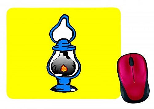 mauspad-laterne-camping-ol-lampe-licht-isoliert-butan-brennen-flamme-kraftstoff-gas-in-gelb-mousepad