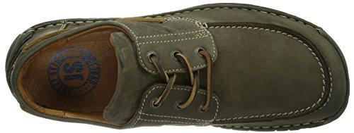 Josef Seibel Schuhfabrik GmbH Dominic 02, Chaussures de ville à lacets homme Gris