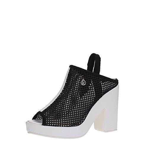 Armani Jeans , Sandales pour femme noir noir Noir