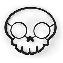 Fred & Friends Funny Side Up Skull - Molde para huevos fritos
