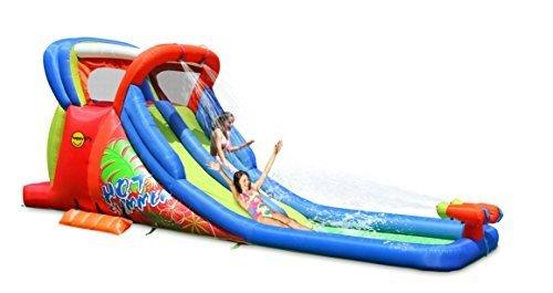 Happy Hop Hot Summer Double Water Slide, Mehrfarbig, 9129