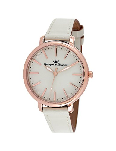 Reloj Yonger & Bresson Mujer Blanco–DCR 050/BB–Idea regalo Noel–en Promo
