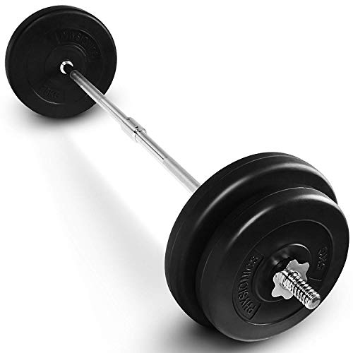 Pesa de entrenamiento, barra con mangos paralelos, mangos moleteados, buen agarre Capital Sports Accretor RTB Entrenador de Tr/íceps Negro