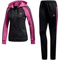 Adidas RE-Focus TS Chándal, Mujer, (Negro Magrea), L