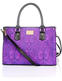 Satya Paul Women's Handbag (Purple)