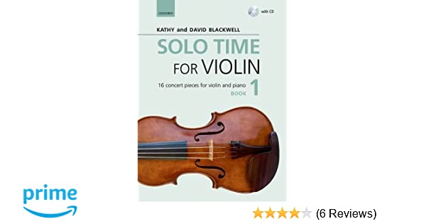 Solo Time for Violin Book 1 + CD: 16 concert pieces for
