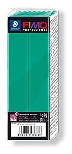STAEDTLER 8041-500. Pasta para modelar Fimo Professional. Caja con 1 Pastilla de Color Verde de 454 Gramos.