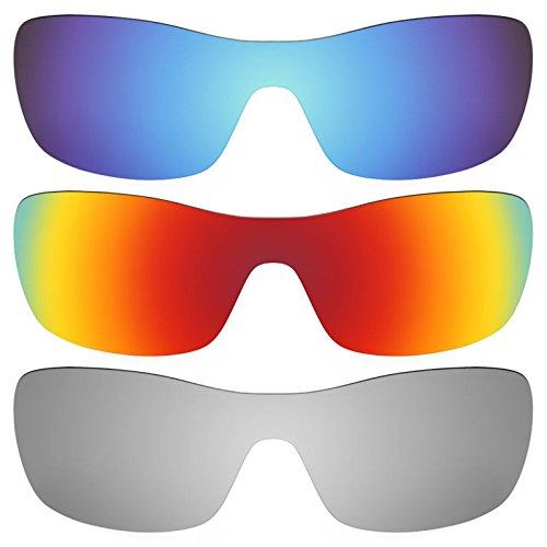 Revant Ersatzlinsen für Oakley Antix Polarisiert 3 Paar Kombipack K014