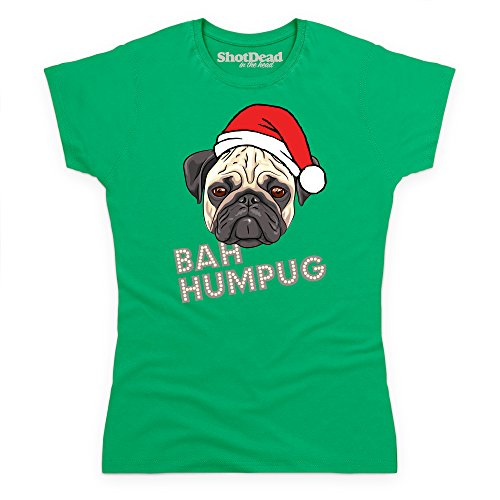 Bah Humpug T-Shirt, Damen Keltisch-Grn