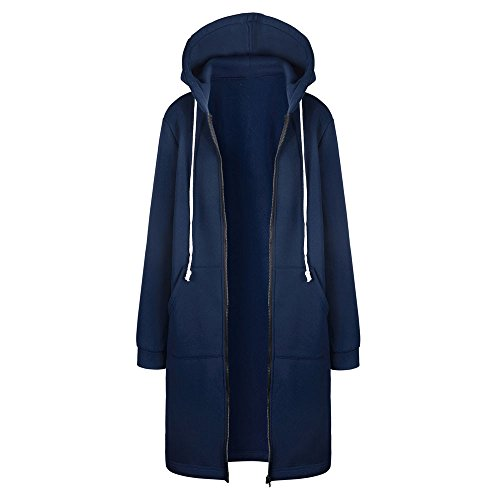 Kinlene Trench Coat Rompevientos-Mujer Sudaderas