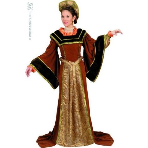 Theaterkostüm-Set Lady Tudor, Größe (Age Moyen Kostüm Femme)