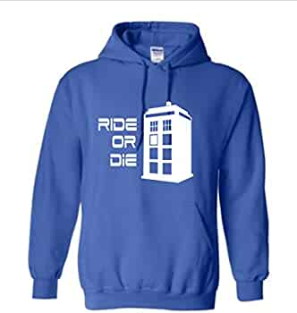 This Is My Ride Tardis Doctor Who Inspired Funny Printed Hoodie
