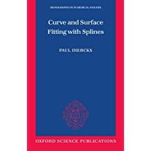 Curve and Surface Fitting with Splines (Monographs on Numerical Analysis)