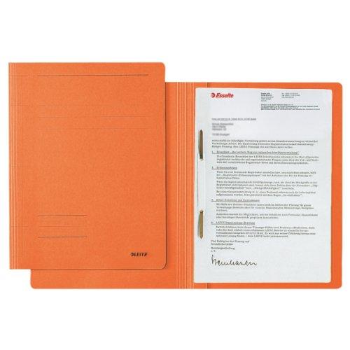 Preisvergleich Produktbild Leitz Schnellhefter Fresh, A4, Manilakarton, orange