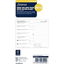Filofax 6840916 - Recambio de agenda (2016,  5 idiomas)
