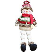 iBaste_Puppe Dekoration Weihnachten Stoffpuppen,Weihnachtsdekoration Ragdoll Santa Schneemann Elch Puppe Weihnachten Urlaub Party Supplies