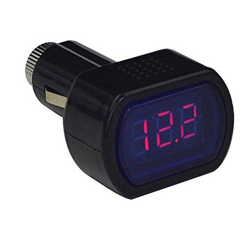prettygood7 Spannungsprüfer Voltmeter Multimeter Mini LED Digital Auto KFZ Batterie Neoteck Pocket Digital Multimeter Multi Tester Voltmeter Amperemeter Ohmmeter Pocket-batterie-tester