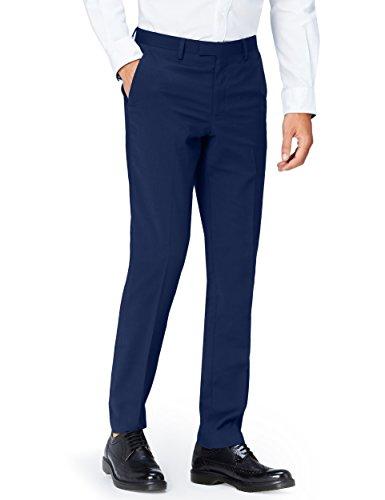 FIND Men's Slim Fit Suit Trousers