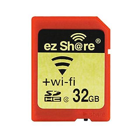 Ez Share SDHC Class 10 Wireless LAN WIFI 32GB SD Speicherkarte für Kamera