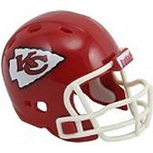 Riddell Revo Pocket Pro - Réplica de casco de los Kansas City Chiefs