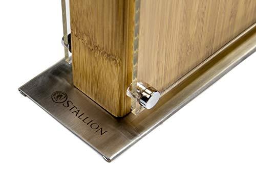 Stallion Professional Magnetischer Messerblock Messerblock Fr Bis Zu Zehn Messer