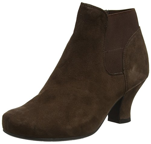 Hotter Women Beverley Ankle Boots, Brown (Chocolate), 4 UK 37 EU