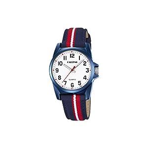 Calypso Reloj Análogo clásico para Unisex de Cuarzo con Correa en Nailon