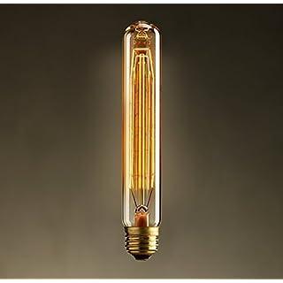 akldigital Old Fashioned Edison Style Dimmble Vintage Light Bulb Retro E27 Screw - Plume Tube