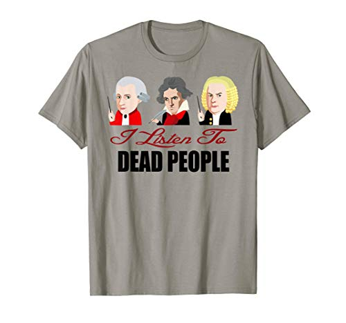 oven Bach-Dead People Classical Music  T-Shirt ()