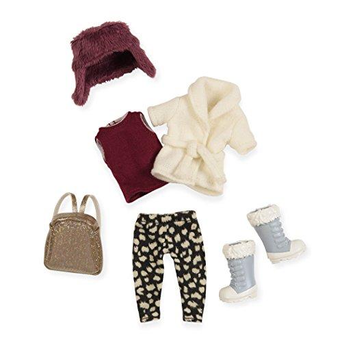 Lori lo30006z Warme Mütze, warm Herz Fashion Puppe Outfit