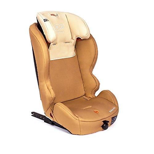 Kinderkraft Safetyfix Kinderautositz mit Isofix 9-36 kg Gruppe 1 2 3 Beige - 5