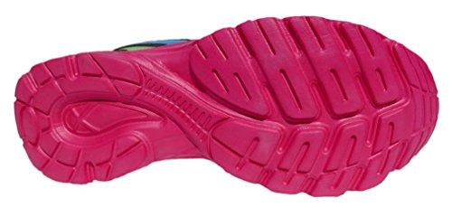 GIBRA® Sportschuhe, sehr leicht und bequem, schwarz/pink/blau, Gr. 36-42 schwarz/pink/blau