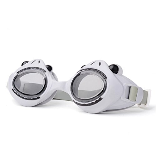 Swimming goggles Kinderschwimmbrille HD Anti-Fog Schwimmbrille (Farbe : Grau)