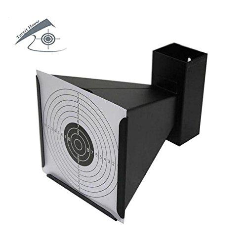 14* 14cm Waffe der Luft–Trichter Kegel Falle für Objektive mit 20objetovos Papier (schwarz)