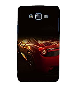 printtech Superfast Car Back Case Cover for Samsung Galaxy Core i8262 / Samsung Galaxy Core i8260