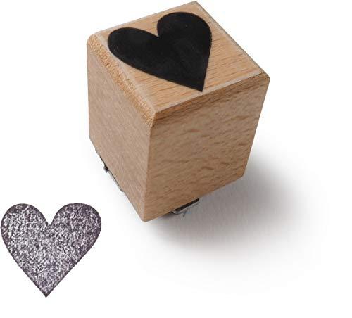 TYSK Design Stempel Herz (Motiv wählbar) Holzstempel Made in Germany, Motivstempel zum Bedrucken und Basteln (Karten, Briefe, Einladung, Einladungskarten, Hochzeit, Geburtstag)