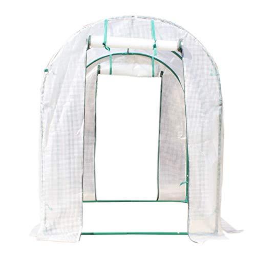 Miniserre serra da giardino balcone walk-in portable lawn, garden greenhouse con irrigazione a goccia indoor/outdoor plant flower grow tenda pe cover zipper roll up (dimensioni : 152×120×152cm)
