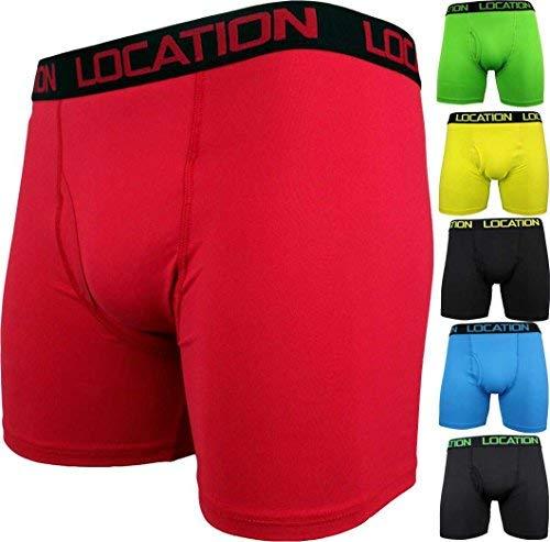 6 Paar Herren Boxershorts Sport Längeres Bein Trunks Unterhose Erwachsene Unterwäsche Neu - Herren, Multi Packung x 6, M