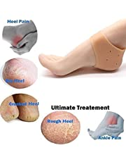 SAI ENTERPRISES Anti Heel Crack Set For men and Women|Anti Hill Crack Set|Anti Heel Crack Set|Anti Hill Crack|Anti Hill|Silicone Gel |Free Size-70 grams