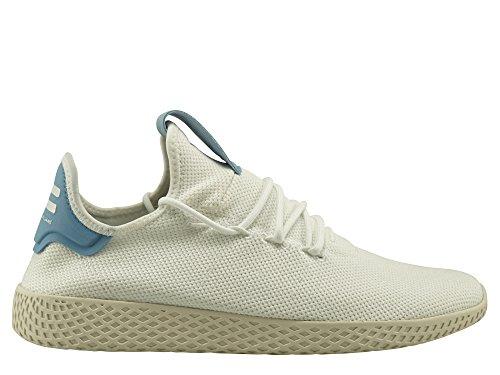 Damen-sommer-tennis-schuhe (adidas Damen PW Tennis hu Gymnastikschuhe, Elfenbein (Ftwr White/Ftwr White/Chalkwhite), 40 EU)