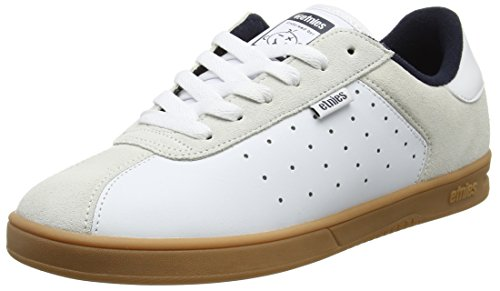 Etnies Men's The Scam Skateboarding Shoes, Navy White Gum